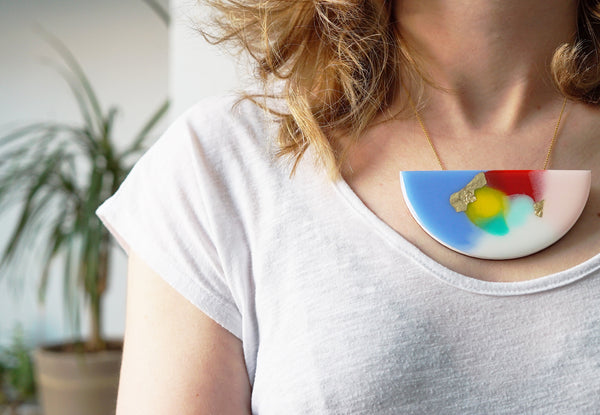 Copy of ART Curve Necklace – Second – slight fading