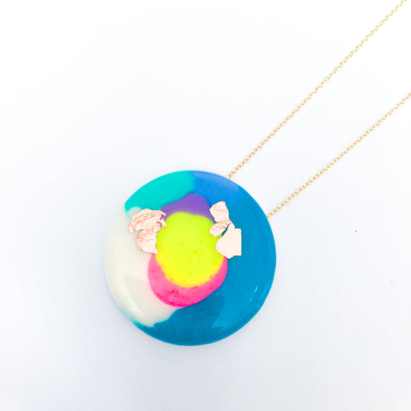 ELECTRO Round Necklace – Second_Slight surface scratches
