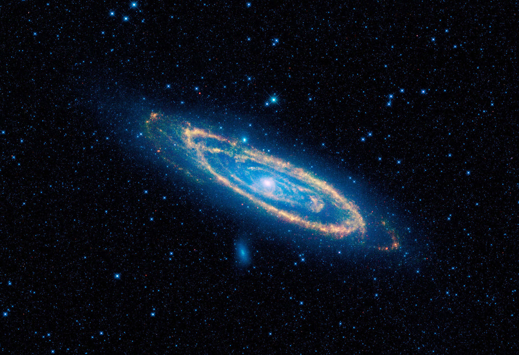 Andromeda M31 Neighbor Galaxy