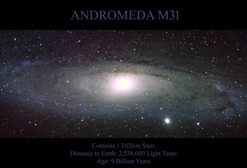 Andromeda Optical Fine Art Print