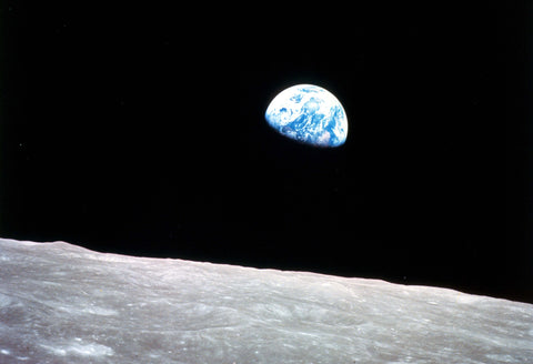Apollo 8 Earthrise High-Resolution Fine Art Poster