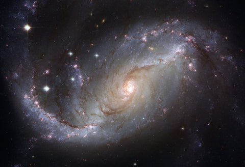 Barred Spiral Galaxy NGC 1672 Fine Art Print