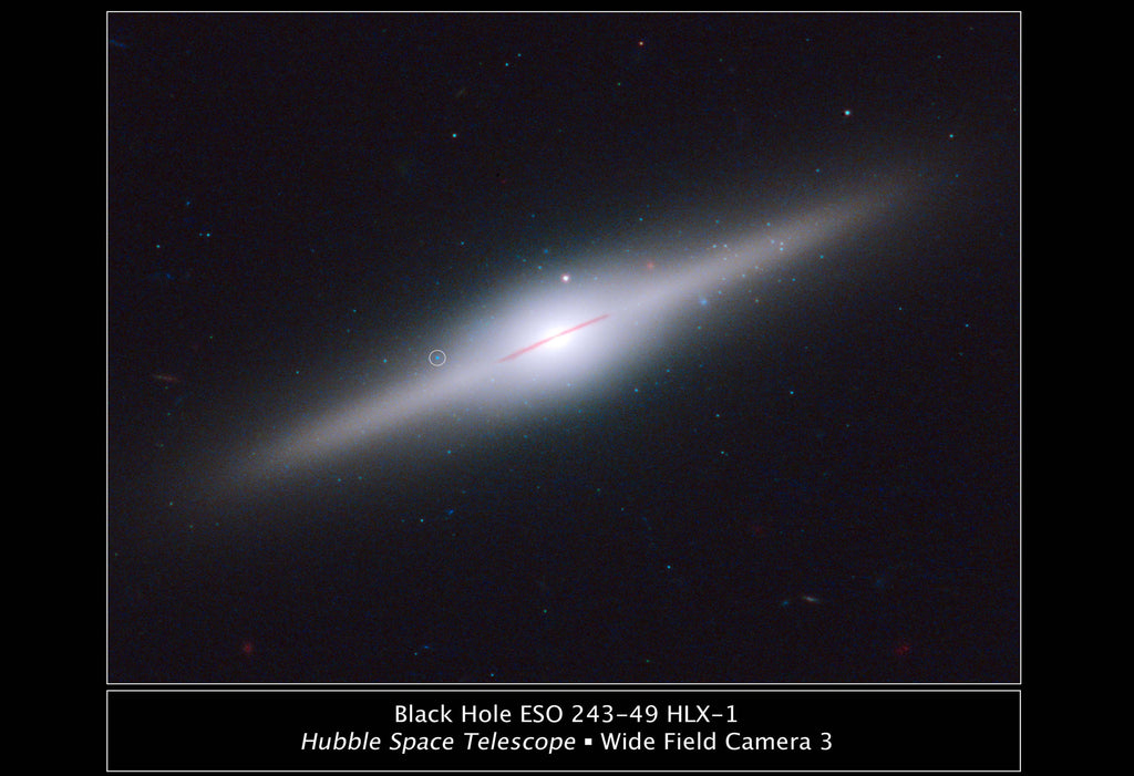 Black Hole ESO 243 Hi Gloss Space Poster