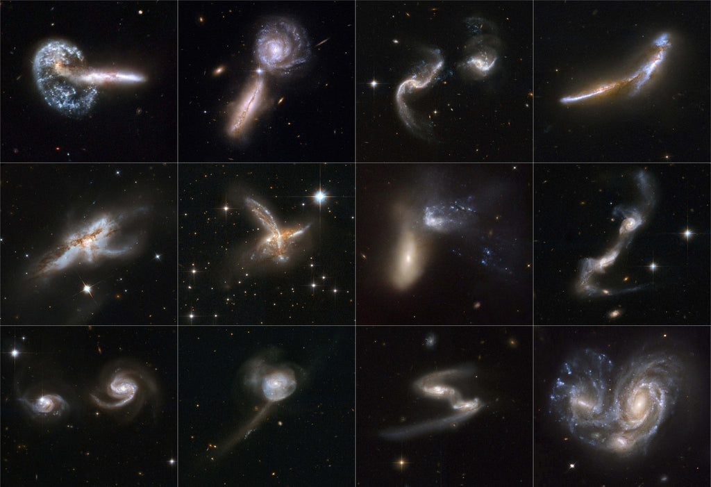 Cosmic Collisions Galore