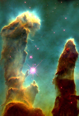 Eagle Nebula Embryos Fine Art Print