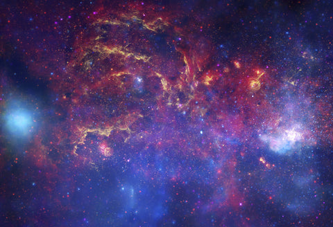 Galactic Center Region Fine Art Print