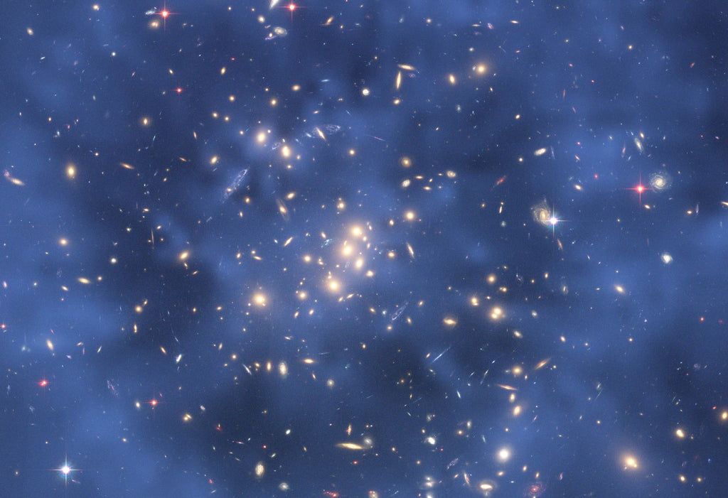 Hubble Dark Matter in Galaxy Cluster