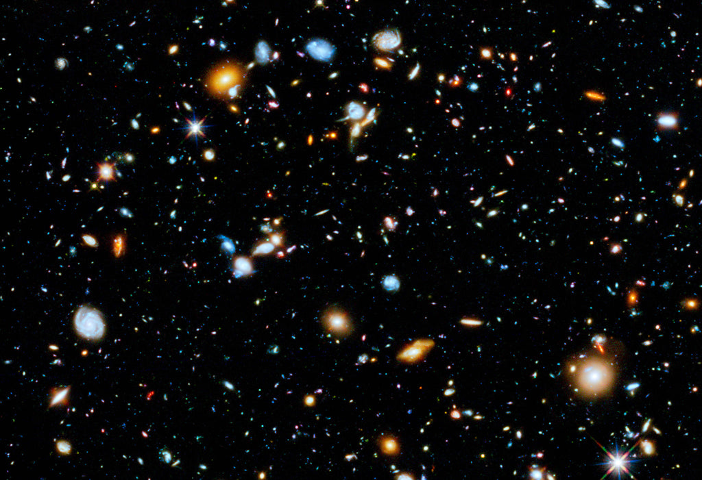 Hubble Ultra Deep Field Hi Gloss Space Poster
