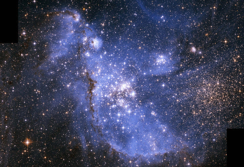 Infant Stars in the Small Magellanic Cloud Fine Art Print