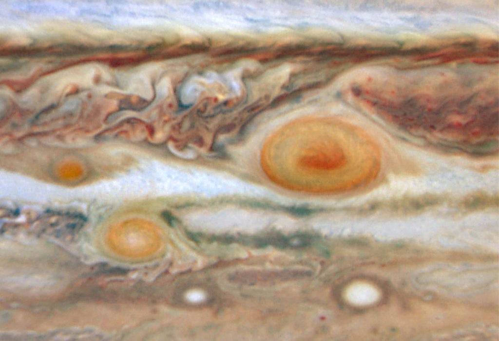 Jupiter Red Spot Hi Gloss Space Poster