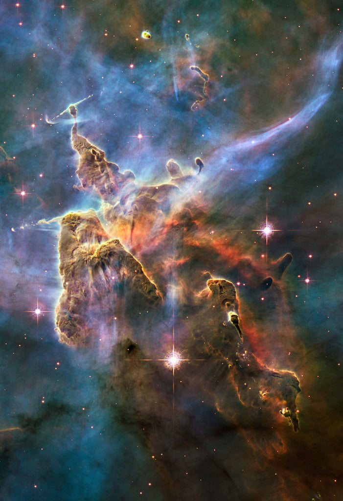 Landscape in the Carina Nebula