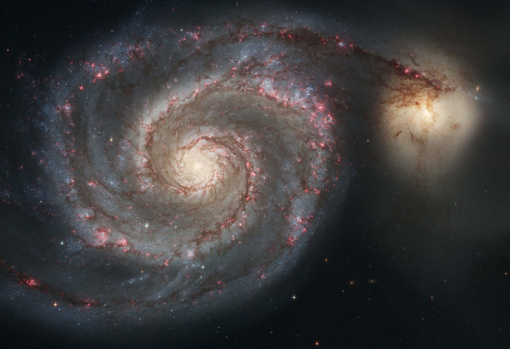 M51 and Companion Galaxy