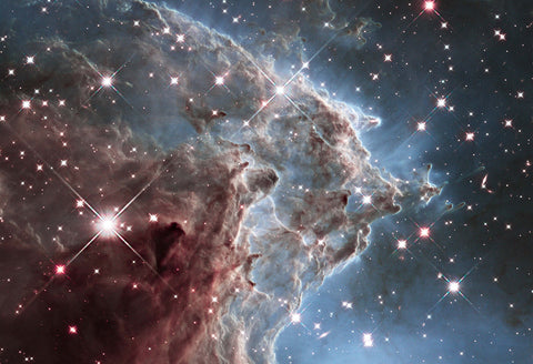 Monkey Head Nebula Hi Gloss Space Poster Fine Art Print