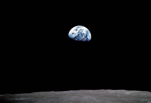 Moon Earthrise Fine Art Print