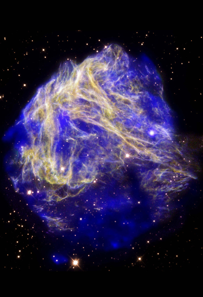 Space Poster of Supernova Stellar Shrapnel