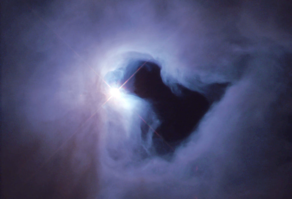 Reflection Nebula in Orion Hi Gloss Space Poster