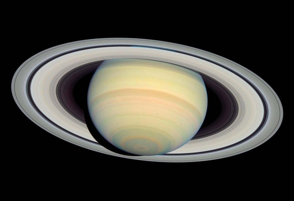 Saturn Beautiful Image Hi Gloss Space Poster