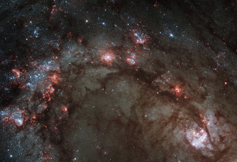 Star Birth in Galaxy M83 Fine Art Print
