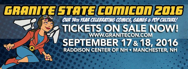 rfandom granite state comicon manchester nh