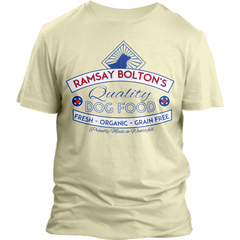 ramsay bolton's quality dog food game of thrones tee shirt