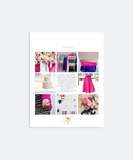 Design Look Book Template
