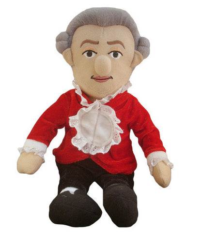 Mozart Wind-Up Doll