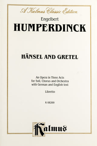 Hansel and Gretel Libretto