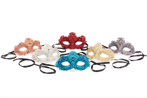 Lace Jewel Masks