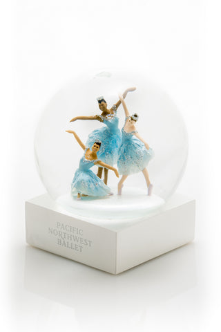 "<font color= ""blue""> -New- </font>PNB Snowflake Dancers Waterglobe"