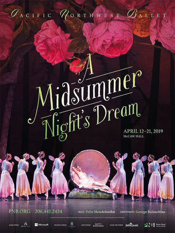 A Midsummer Night's Dream Poster 2019