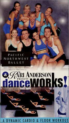 "<font color= ""red""> SALE </font> Dance Works! DVD"