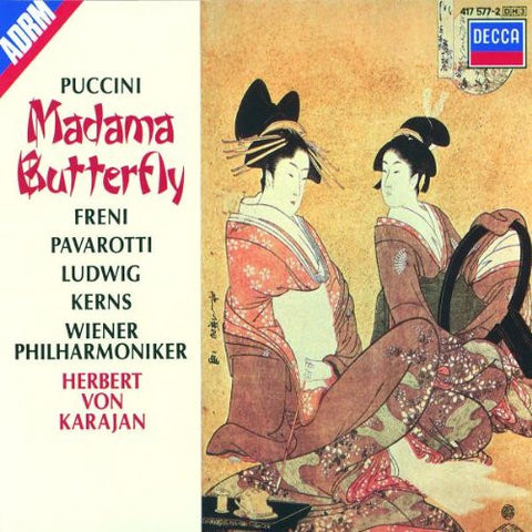 Madama Butterfly CD + Libretto