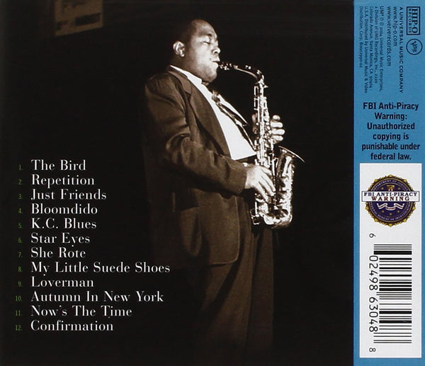 The Best of Charlie Parker CD