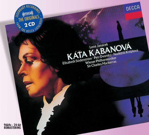 Katya Kabanova CD + Libretto