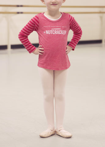 "<font color= ""red"">SALE</font> Nutcracker Red Stripe Kids T-Shirt"