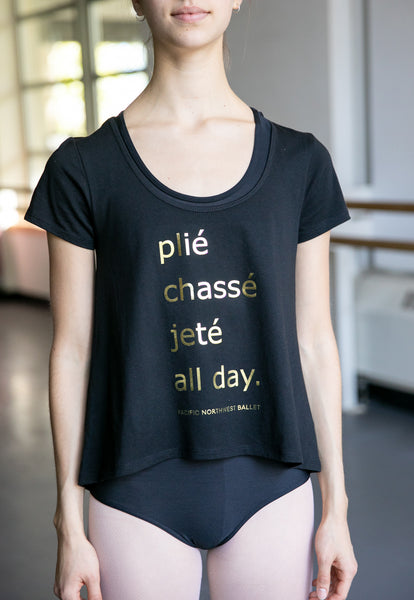 Plié Chassé Jeté All Day T-Shirt