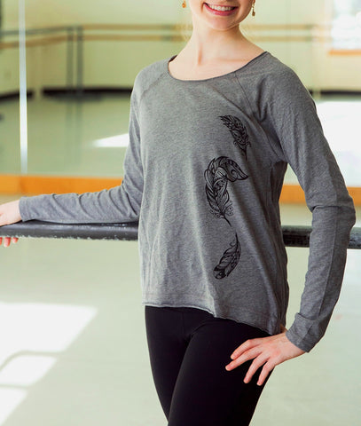 Odile With It Long-Sleeved T-shirt