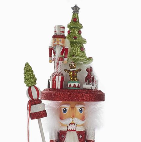 Christmas Tree Hat Nutcracker