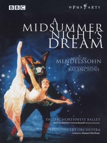 PNB's A Midsummer Night's Dream DVD