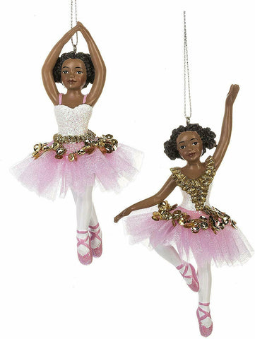 Ballerina Girl Ornaments