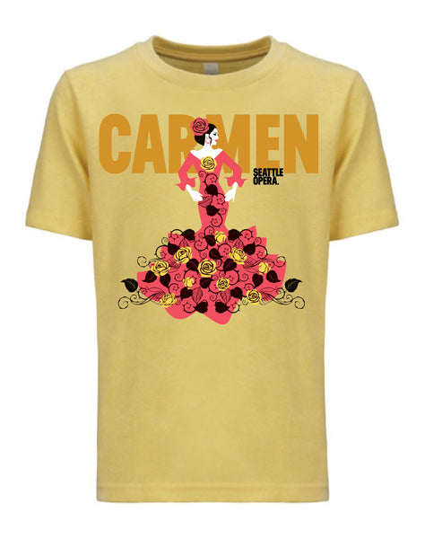 "<font color= ""red""> SALE </font> Carmen T-Shirt (Unisex, Women's, & Kids)"