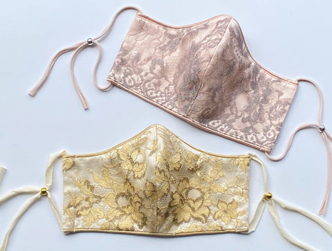 Lace Evening Masks