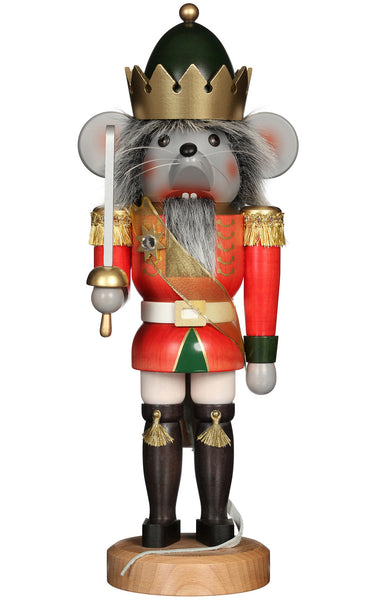 Handmade German Mouse King Nutcracker