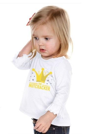 "<font color= ""red"">SALE</font> Nutcracker Clara Crown T-Shirt (Infant, Toddler, Girls)"