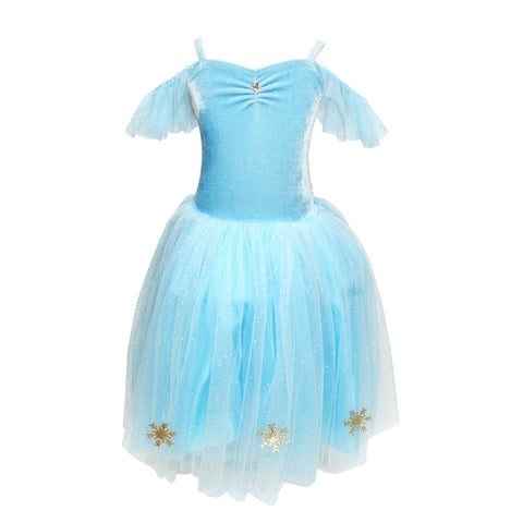 Blue Snowflake Dress