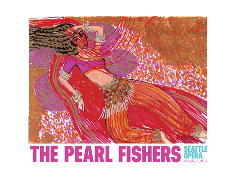 Pearl Fishers Poster 2015