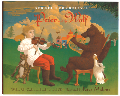 Peter and the Wolf Book & CD