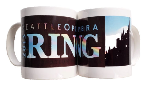 Ring Rainbow Magic Ink Mug