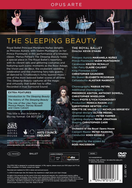 The Sleeping Beauty Royal Ballet DVD