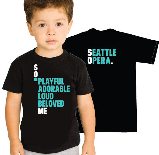 Seattle Opera SO. ME Toddler T-Shirt